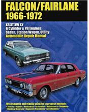 Ford Falcon & Fairlane XR, XT, XW & XY 1966 - 1972 Ellery Repair Manual