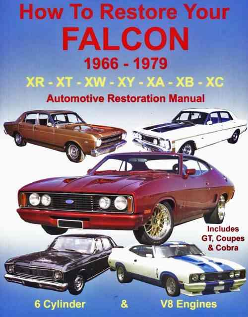 How to Restore Your 1966 - 1979 Ford Falcon Automotive Restoration Manual - Front Cover