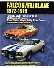 Ford Falcon (XA, XB, XC) Fairlane (ZF, ZG, ZH) 1972 - 1979 Ellery Repair Manual