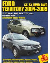 Ford Territory (SX, SY Series) 2004 - 2009 Ellery Repair Manual