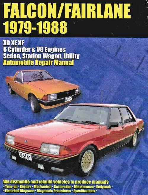 Ford Falcon & Fairlane XD, XE & XF 1979 - 1988 - Front Cover