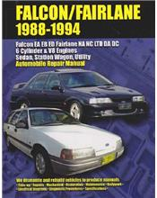 Ford Falcon EA, EB & ED Fairlane NA & NC LTD DA & DC 1988 - 1994