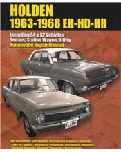 Holden (EH, HD, HR) 1963 - 1968 Ellery Repair Manual