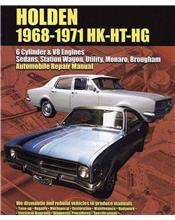 Holden (HK, HT, HG) 1968 - 1971 Ellery Repair Manual