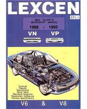 Toyota Lexcen VN - VP 1988 - 1993 Ellery Automobile Repair Manual