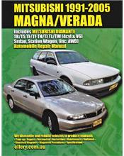 Mitsubishi Magna / Verada 1991-2005 Ellery Repair Manual