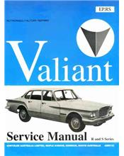 Chrysler Valiant VR & VS 1961 - 1963 Service Manual