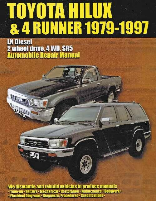 Toyota Hilux/4 Runner (LN Series) Diesel 1979 - 1997 - Front Cover