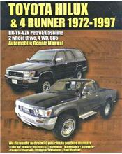 Toyota Hilux/4Runner (Petrol with EFI) 1972 - 1997 Ellery Repair Manual