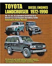 Toyota Landcruiser (BJ, HJ, LJ Diesel) 1972 - 1990 Ellery Repair Manual