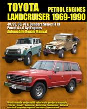 Toyota Landcruiser FJ & RJ Petrol 1969 - 1990 Automobile Repair Manual