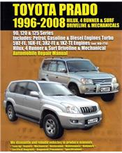 Toyota Prado (Petrol & Diesel) 1996 - 2008 Automobile Repair Manual