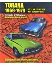 Holden Torana LC, LJ, LH, LX & UC GTR XU1 SLR5000 A9X 1969 - 1979