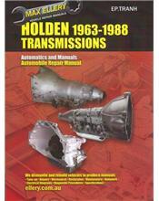Holden Automatic & Manual Transmissions 1963 - 1988 Repair Manual