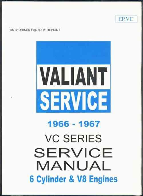 Chrysler Valiant VC Series 1966 - 1967 Service Manual