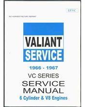 Chrysler Valiant VC Series 1966 - 1967 Service Manual