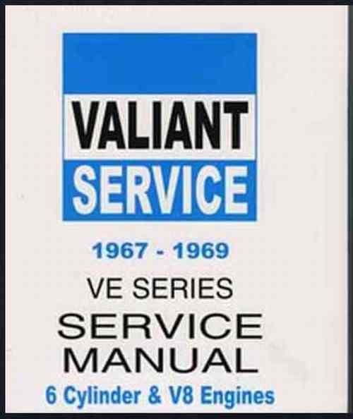 Chrysler Valiant VE 1967 - 1969 Owners Service Manual