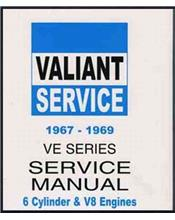 Chrysler Valiant VE Series 1967 - 1969 Service Manual