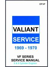 Chrysler Valiant VF Series 1969 - 1970 Service Manual