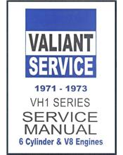 Chrysler Valiant VH1 Series 1971 - 1973 Service Manual : Book 1
