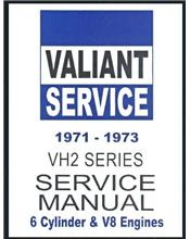 Chrysler Valiant VH2 Series 1971 - 1973 Service Manual : Book 2