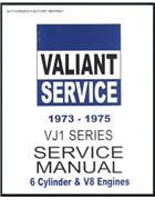 Chrysler Valiant 1973 - 1975 VJ Series Service Manual : Book 1