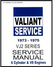 Chrysler Valiant VJ Series 1973 - 1975 Service Manual : Book 2