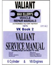 Chrysler Valiant VK Series Service Manual : Book 2