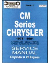 Chrysler Valiant CM Series 1978 - 1981 Service Manual: Book 1