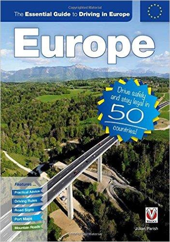 The Essential Guide to Driving in Europe - Front Cover