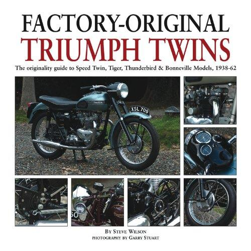 Factory-Original Triumph Twins 1938 - 1962 - Front Cover