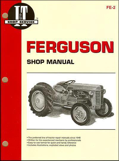 Ferguson 1946 - 1954 Farm Tractor Owners Service & Repair Manual - Front Cover