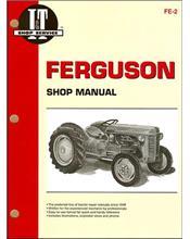Ferguson 1946 - 1954 Farm Tractor Owners Service & Repair Manual