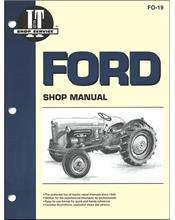 Ford New Holland 1953 - 1954 Farm Tractor Owners Service & Repair Manual