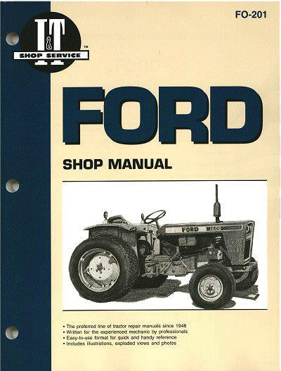 Ford Fordson Farm Tractor Owners Service & Repair Manual - Front Cover