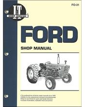 Ford New Holland Pre 1975 Farm Tractor Owners Service & Repair Manual
