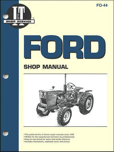 Ford New Holland 1979 - 1987 Farm Tractor Owners Service & Repair Manual - Front Cover