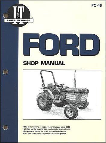 ford  holland   farm tractor owners service