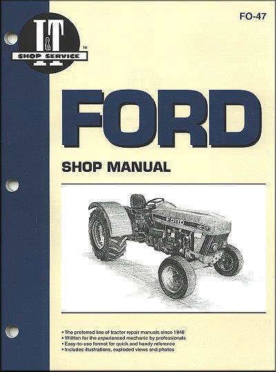 Ford New Holland 1990 - 2002 Farm Tractor Owners Service & Repair Manual - Front Cover