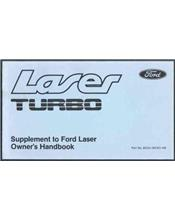 Ford Laser KB Turbo Supplement Owners Handbook