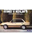Ford Meteor GC 1985 ULP Owner Manual