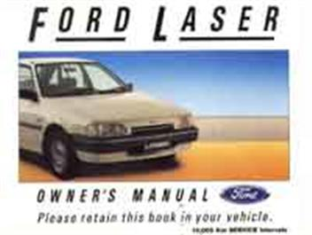 ford laser  tx turbo   owners handbook