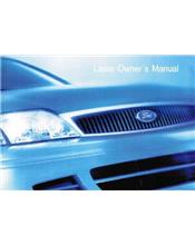 Ford Laser KQ 2001 Owners Handbook Kit : Factory Publication