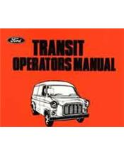 Ford Transit Van 1966 - 1977 Owners Handbook : Factory Publication