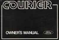 Ford Courier 1974-1984 Owners Handbook