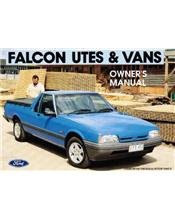Ford Falcon XG Ute 1993 Factory Owners Handbook