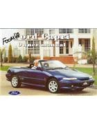 Ford Capri SE30 1994 Owners Handbook: Factory Publication - Front Cover