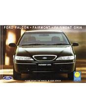Ford Falcon EL 1996 Factory Owners Handbook