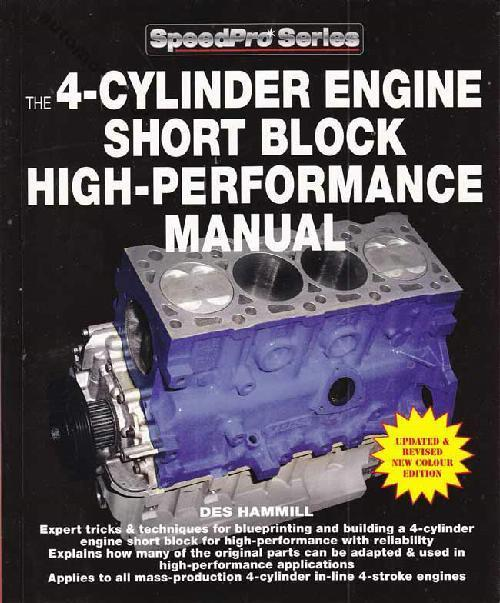 4-Cylinder Engine Short Block High-Performance Manual - Front Cover