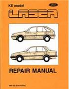 Ford Laser KE Meteor GE Including Turbo 1987 - 1990 Factory Repair Manual